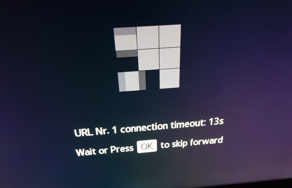 connection timeout smart IPTV