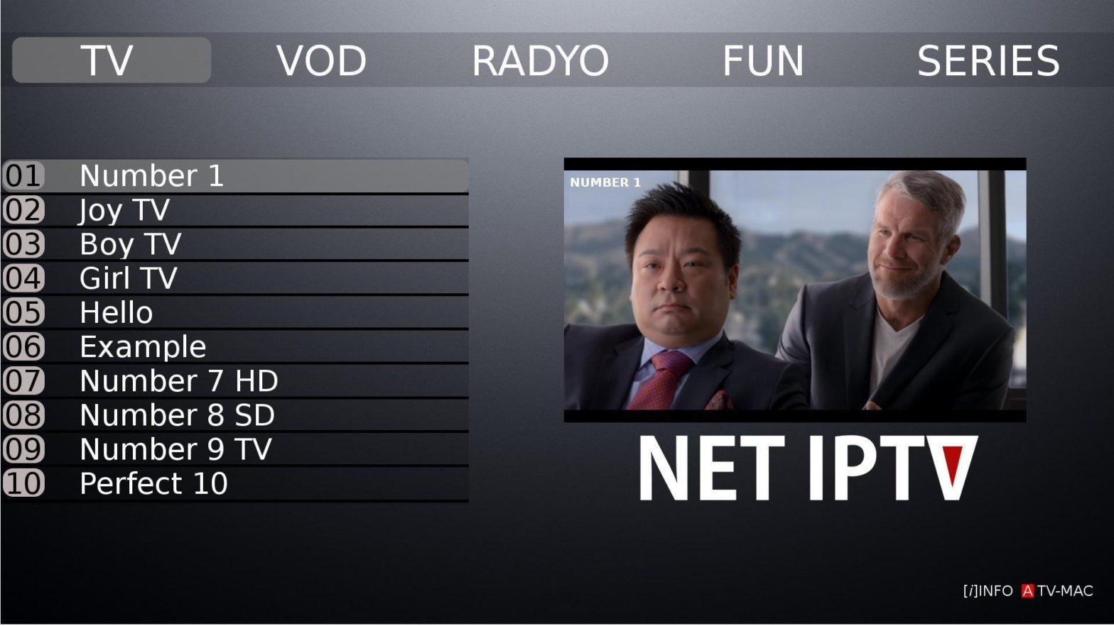 Installer Net IPTV